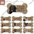 Putuo Decor Hund Knochen Zeichen Plaque Holz Schöne Freundschaft Holz Anhänger für Holz Zeichen Hund Haus Dekoration Wand Dekor Hund tag