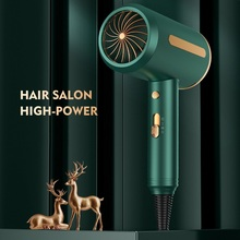 2000W Professional Hair Dryer 220V Electric Dryer Hair Hammer Hairdryer Blow Negative Ion Blue light Mini Blower Dry Strong Wind