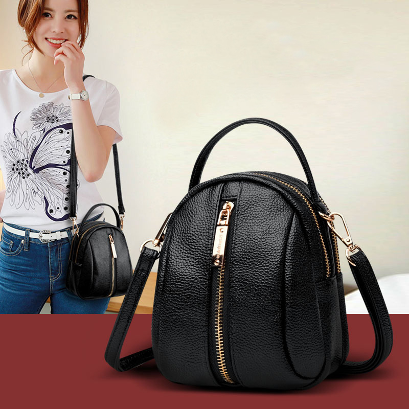Shoulder Bag Women Mini 2020 New Fashion Black Pu Leather Messenger Bag For Women Shopping Women Bag Crossbody Bag For Girl