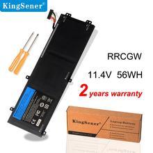 KingSener RRCGW חדש מחשב נייד סוללה עבור Dell XPS 15 9550 דיוק 5510 סדרת M7R96 62MJV 11.4V 56WH משלוח 2 שנים אחריות