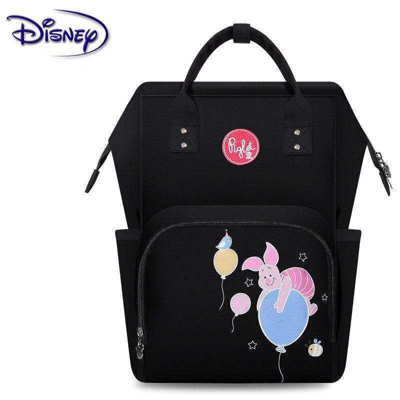 Disney Diaper Bag Mummy Multi-function Large Capacity Mummy Bag Waterproof Backpack Baby Care Travel Backpack Wet Bag