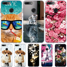 For Huawei Honor 9 Lite Case Ultra Thin Silicon Cover Honor9 3D Cute 9Lite Cases