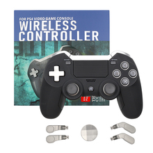 Bluetooth Wireless Gamepad  For PS4 Dual Vibration Elite Game Controller Joystick for PS3/PC Video Gaming Console