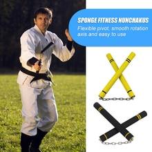 Sponge-Equipment Nunchucks Training-Practice-Stick Martial-Arts Working-Out Child