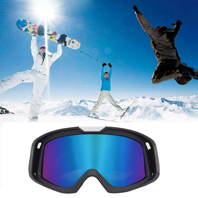 FHigh Quality UV400 Windproof Adjustable Breathable Outdoor Sports Protective Eyewear Practical Motorcycle Cycling Helmet Glass