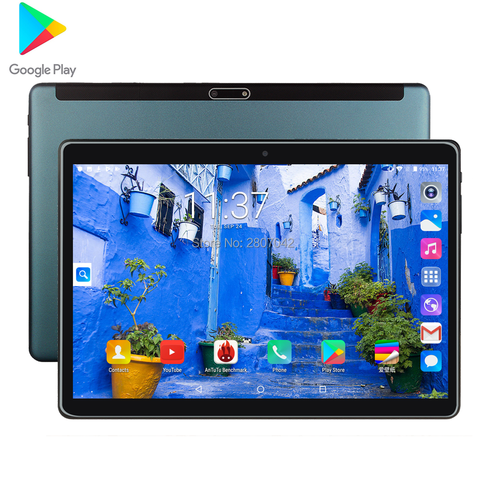 Brand New Original 10-inch Tablet Android 9.0 Google Market 3G Phone Dual SIM Card CE Brand WiFi GPS Bluetooth Cell Phone Tablet