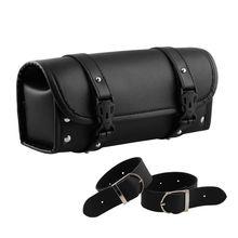 Retro Motorcycle Front Fork Handlebar Bag Tool Side Pack For Yamaha Tool Bag все цены