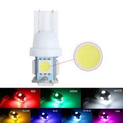 Led Car Light Auto LED Reading Lamp Instrument Bulb Licence Lights Clearance Lamps T10 194 147 168 5050 5smd 12V Bulbs 2Pcs