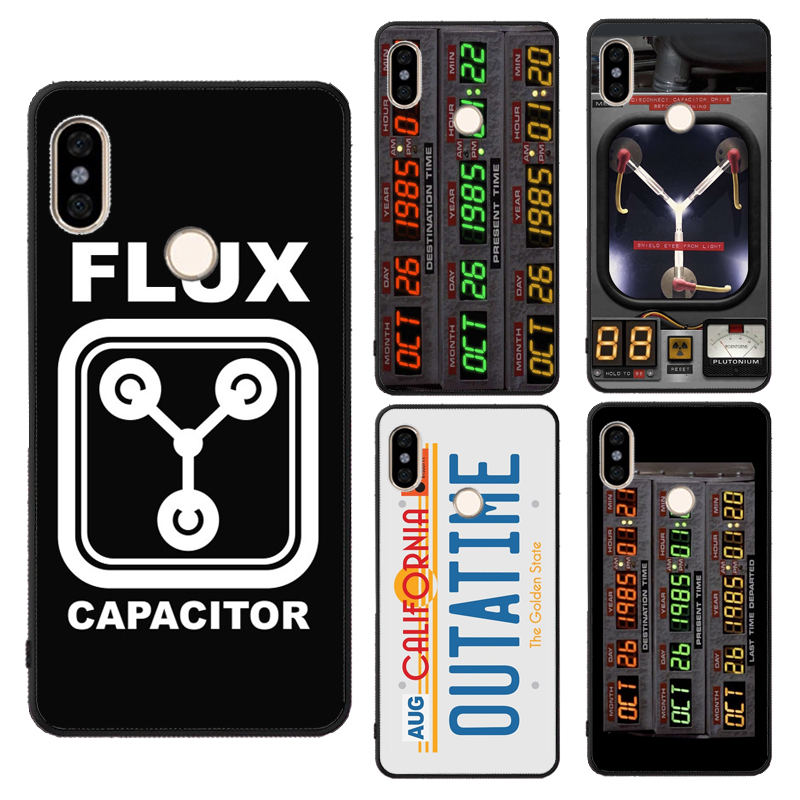 Back To The Future Flux Capacitor Case For Xiaomi Redmi Note 7 8 9 Pro 8T 9S 7A 8A K30 Mi 10 9T Pro 9 A3 Note10 Max3 Mix3