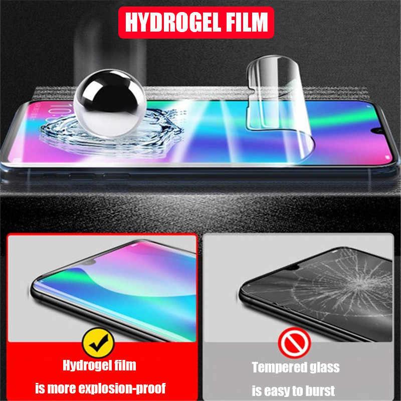 Mềm Mại Hydrogel TPU Cho Lenovo K10 Plus A6 Note Z6 Pro 5G Nam Bản K6 Thưởng Thức Z5S Màn Hình tấm Bảo Vệ Nano Bộ Phim (Không Kính)
