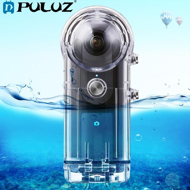 PULUZ 30M boîtier étanche pour RICOH Theta V/Theta S & SC360 360 degrés accessoires de caméra boîtier boîtier de protection de plongée