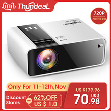 Thundeal Wifi Projector Game Video Native Movie TD90 HDMI Home-Cinema Android LED 1280x720p