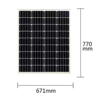 Solar Kit 300w 500w 600w 800w 1000w 1KW 1200W Panel 100w 12v Battery Charge Controller 12v/24v 40A PWM Caravan