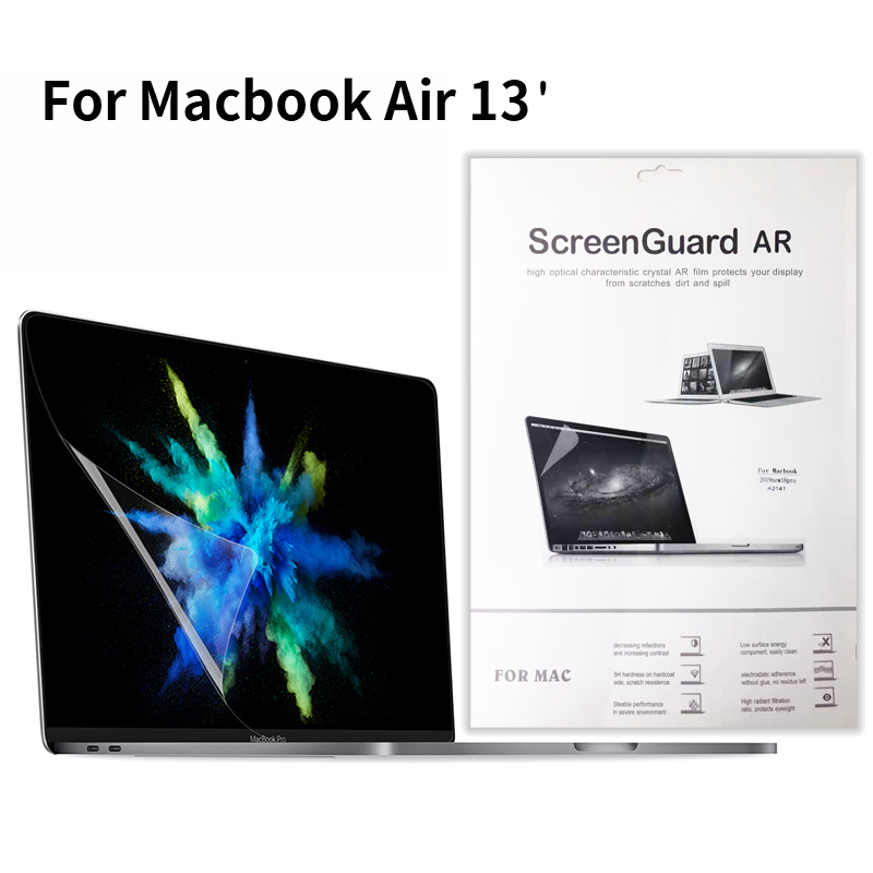"Protection Film For MacBook Air 13"" The New Screen Protector  HD Clear Film With Hydrophobic Coating"