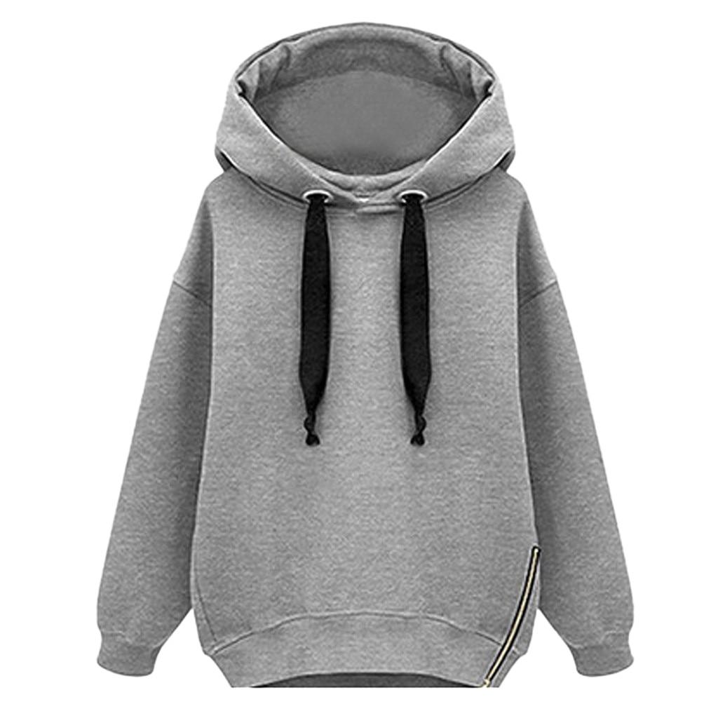JAYCOSIN Western Style Loose Long-sleeved Hooded Sweatshirt Sports Fashion Thickening Long Sweatshirt Daily Autumn And Winter