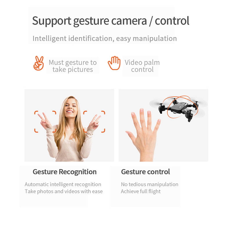 SHAREFUNBAY FPV 4k HD 1080P Wide Angle Dual Camera Drone with WiFi and Quadcopter 4