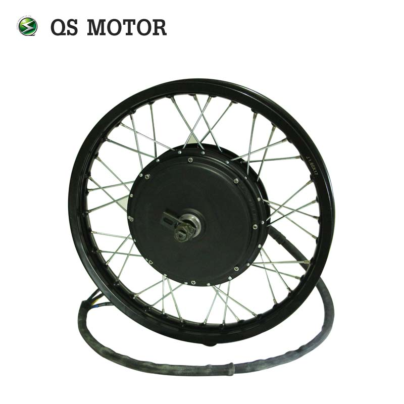 QS Motor 205 50H V3 Motor 3000W 72V 80km/h Electric High Power Bike Spoke Hub Motor
