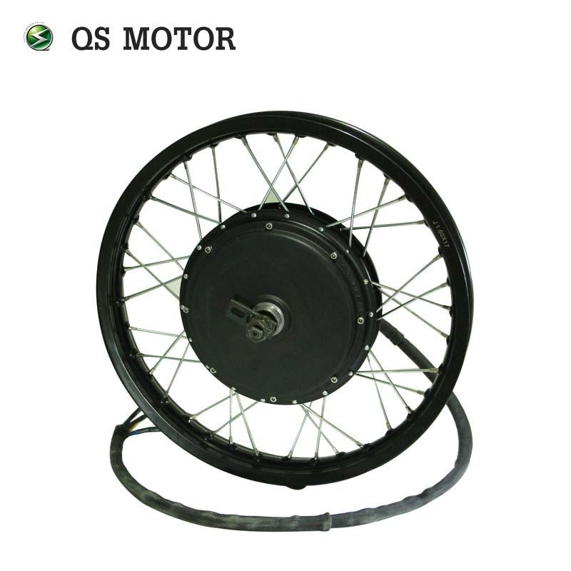 QS Motor 205 50H V3 Motor 3000W 72V 80km/h Electric High Power Bike Spoke Hub Motor