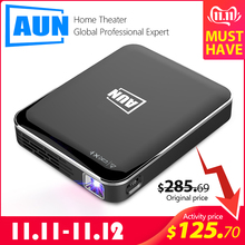 AUN Portable Projector Mirroring Multimedia-System Phone-Screen 3D Home Cinema Android/ios