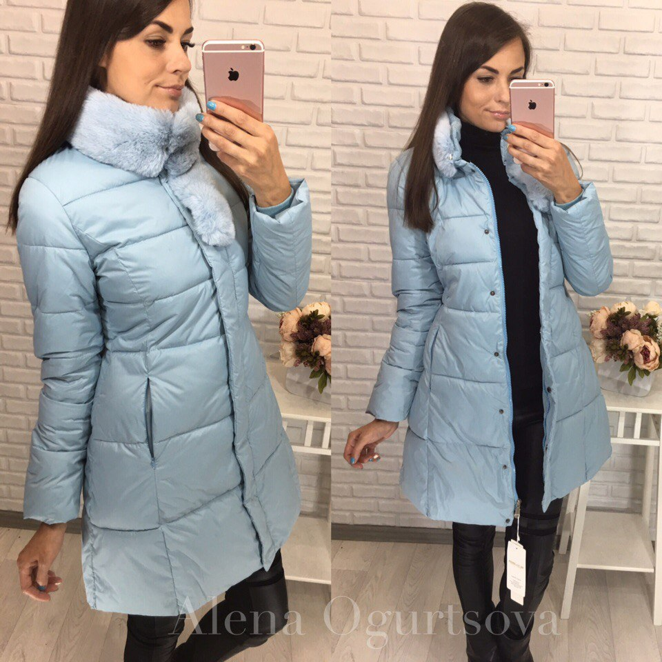 2018 Winter New Style Fur Collar Fashion Cotton-padded Clothes Supply Of Goods AliExpress EBay