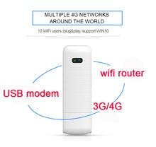 Ldw922 3g/4g wifi roteador móvel portátil sem fio lte usb modem dongle nano slot para cartão sim bolso hotspot