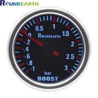 Dragon gauge 52mm White Backllight Car Turbo Turbin Mechanical Boost Gauge Meter Boost Pressure Gauge -1~3 Bar Free Shipping