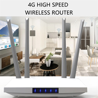 Router Wifi 3G 4G 300Mbps sblocca 4 antenne esterne Modem domestico 4g Wifi Sim Card GSM LTE FDD TDD Hotspot di rete Wi-Fi Wireless