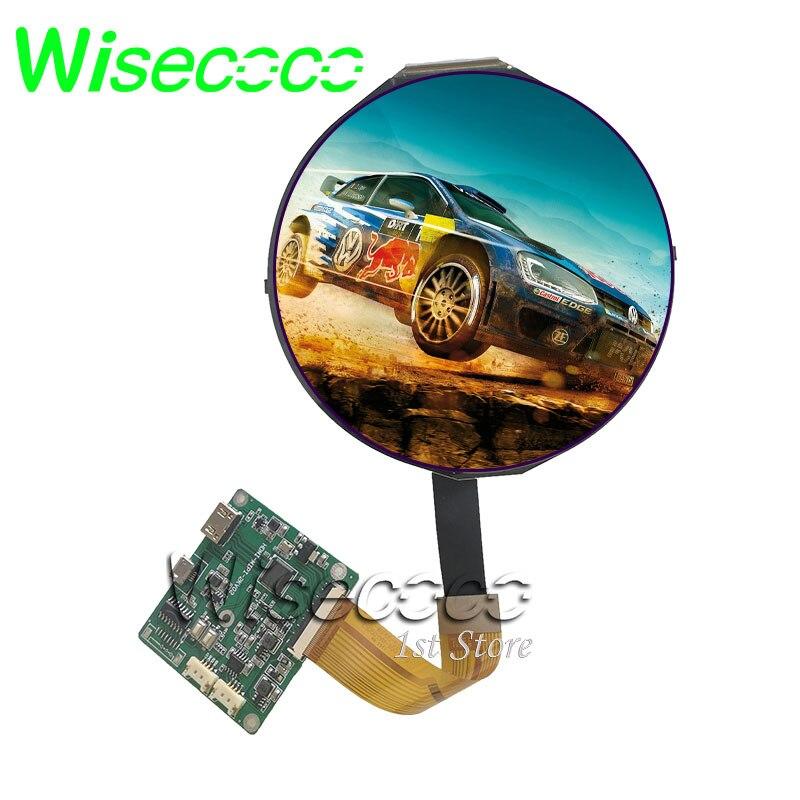 5 дюймов круг ЖК-дисплей Экран круглый Дисплей FHD 1080*1080 HDMI MIPI драйвер платы 1080P IPS на тонкопленочных транзисторах на тонкоплёночных транзисто...