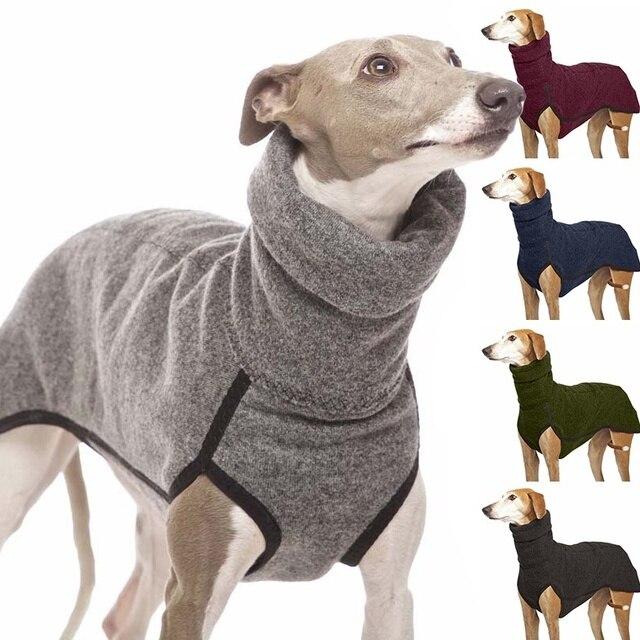 High Collar Dog Sweater  2