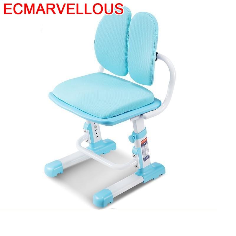 Estudio Mobiliario Tabouret Pour Silla Infantiles Kids Adjustable Cadeira Infantil Chaise Enfant Baby Furniture Children Chair