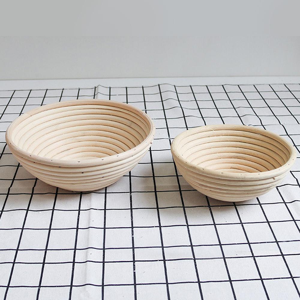 4 Sizes Round Bread Basket Proofing Basket Baking Bread Making Proofing Baskets For Sourdough Bread Sourdough Proofing Basket
