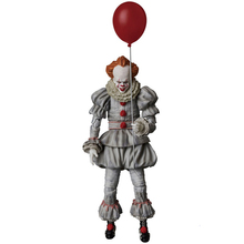 18cm NECA Pennywise Joker clown PVC Action Figure Toys bloody version clown Dolls figure Decoration model toys boyfriend gift