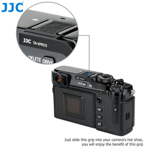 Image 5 - JJC Deluxe Metal Thumbs Up Grip For Fujifilm X Pro3 XPro3 X Pro2 XPro2 X Pro1 Camera Hot Shoe Hand Grip Camera Accessories