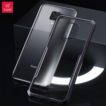 XUNDD Case For Redmi Note 9 Pro Case Protective Transparent Cover Glove Airbag Bumper Shell For Xiaomi Redmi Note 9 S 9S Case