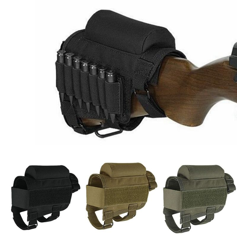 Hunting Shot gun Cartridge Belt Airsoft Tactical Shot gun Shell Ammo Pouch Holder Military gun accessories Hunting Gear