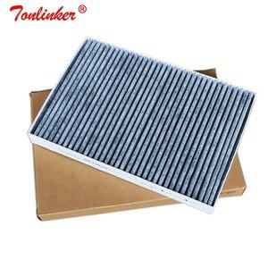 Image 1 - فلتر الهواء بالكابينة لأودي A4 8E B6 2000 2004/A4 B7 2004 2008/8H B6 B7 2002 2009/أودي A6 C5/اولرود 2000 2005 نموذج الكربون فلتر