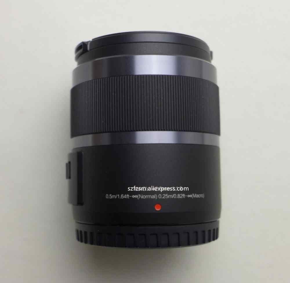 Nuevo 42,5mm 42,5 F1.8 lente de enfoque fijo para YI M1 para Olympus E-PM1 E-P5 E-PL3 E-PL5 E-PL6 E-PL7 E-PL8 E-PL9 EM5 II EM10 II Cámara