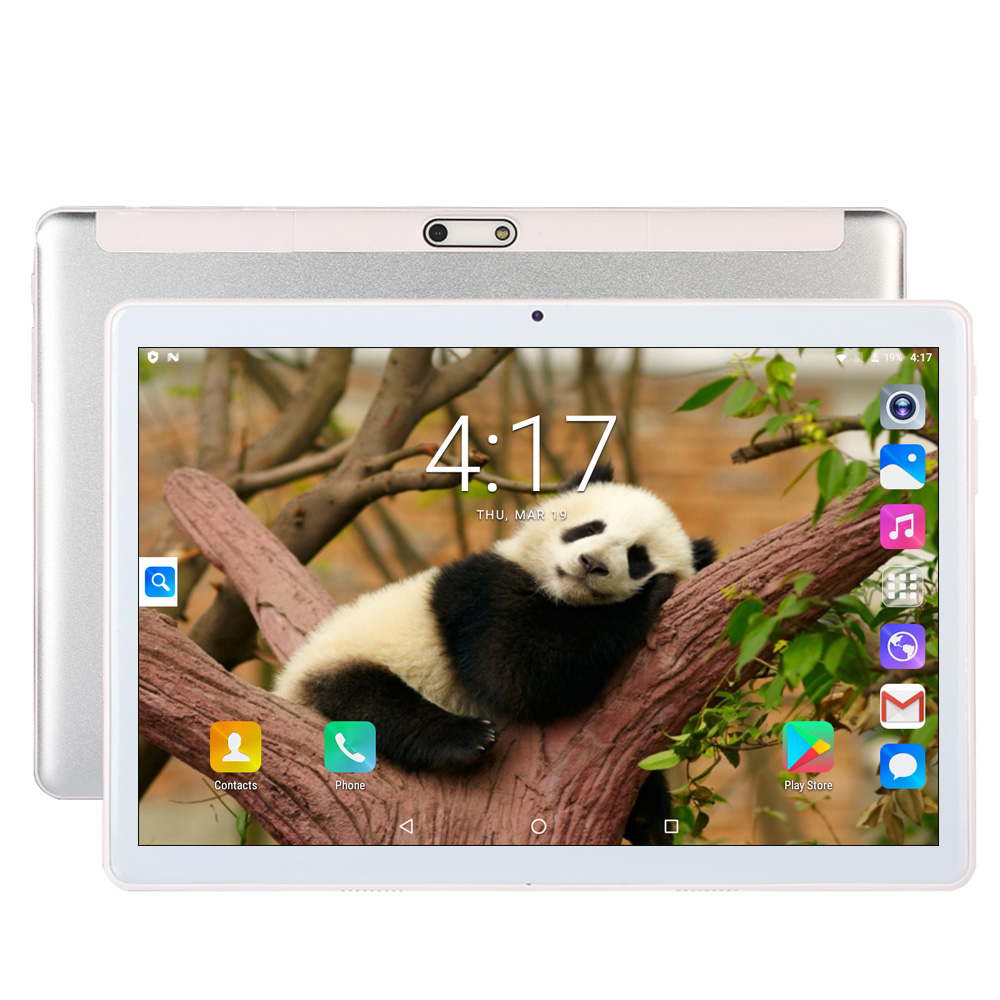 New 10 Inch Android 7.0 Dual SIM Card 3G Phone Call GPS Tablet PC Kids Tablets WiFi 1280*800 IPS Screen Google Market FM Tab