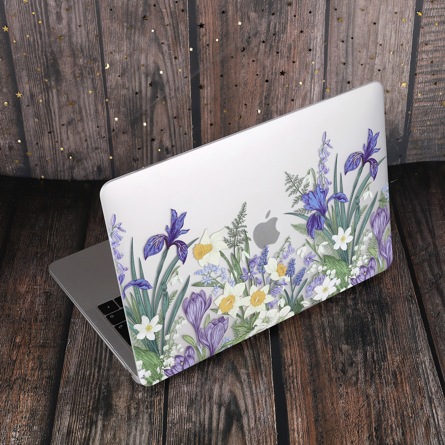 Marble Flower Pattern Case for MacBook 76
