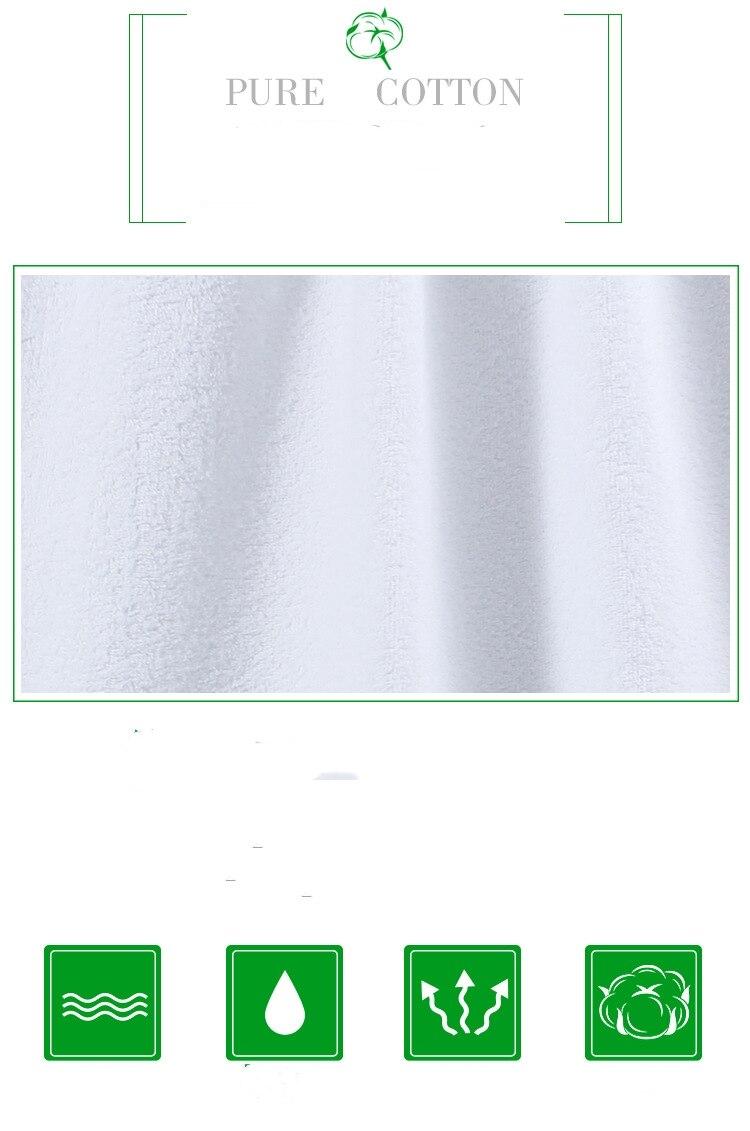 novo estilo sublimação em branco terylene macio