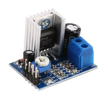 TDA2030A Super Mini DC 6-18V Power Amplifier Board Module Dual Channel Electronic DIY Tool Audio Amplify Volume Adjustable image