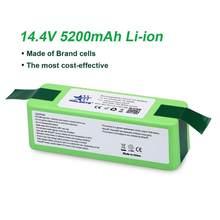 Melasta – batterie Lithium-ion pour iRobot Roomba, 5,2 ah, 14.4V, séries 800, 700, 600, 500, 530, 550, 560, 620, 650, 760, 770, 780