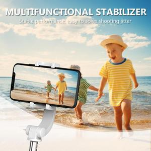 Image 5 - Przenośny regulowany telefon stabilizator PTZ stabilizator uchwytu antywstrząsowego Selfie Stick na telefon komórkowy z androidem iOS uniwersalny