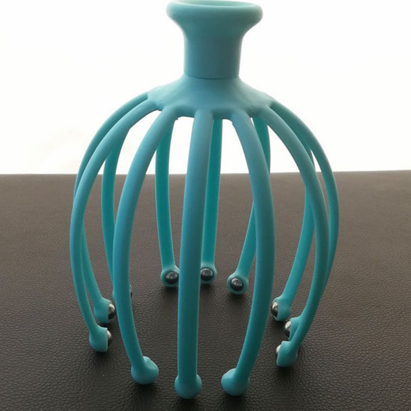 Handheld Scalp Massager with 12 Flexible Tentacles with Scrollable Steel Balls Provides Better Massage Experience 3