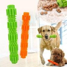 цены 1PCS Pet Dog Toy Put Snack For Outdoor Training 36*230/28*180cm TPR Bite-resistant Leakage Molar Rod Training Bite Chew Toy Dogs