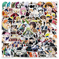 100PCS Hot Style Mixed Anime Stickers Pack For Children Classic Toy Cartoon Decal Sticker To DIY Bicycle Notebook Guitar Laptop