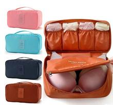 JYtop Waterproof Multi-Functional Travel Organizer Handbag Cosmetic Make-up Bag Underwear Bra Storage Bag Pouch аксессуар чехол devia neon multi functional waterproof bag black