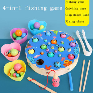 Montessori Wooden fishing Bala