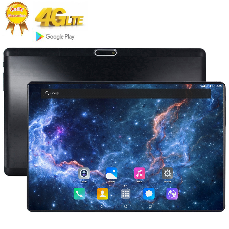 The Tablet Android 9.0 10 Core 128GB ROM 8GB Rom 3G 4G LTE 2560 1600 IPS 13MP SIM Card Ips Tablet 2.5D Tempered Glass 10.1 Inch