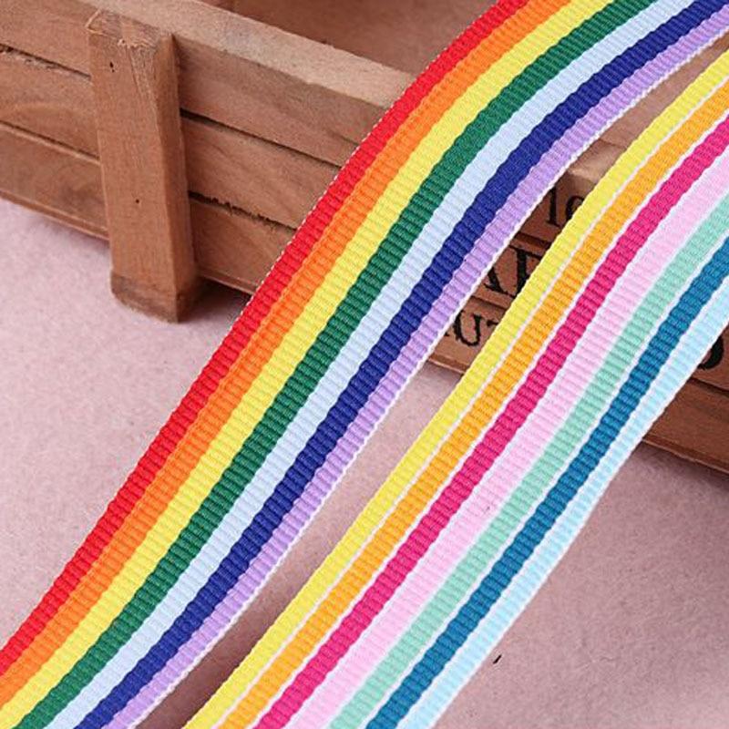 20mm Rainbow Ribbon Pride Bright *FREE WORLDWIDE SHIPPING* 4.5 Metres Gay